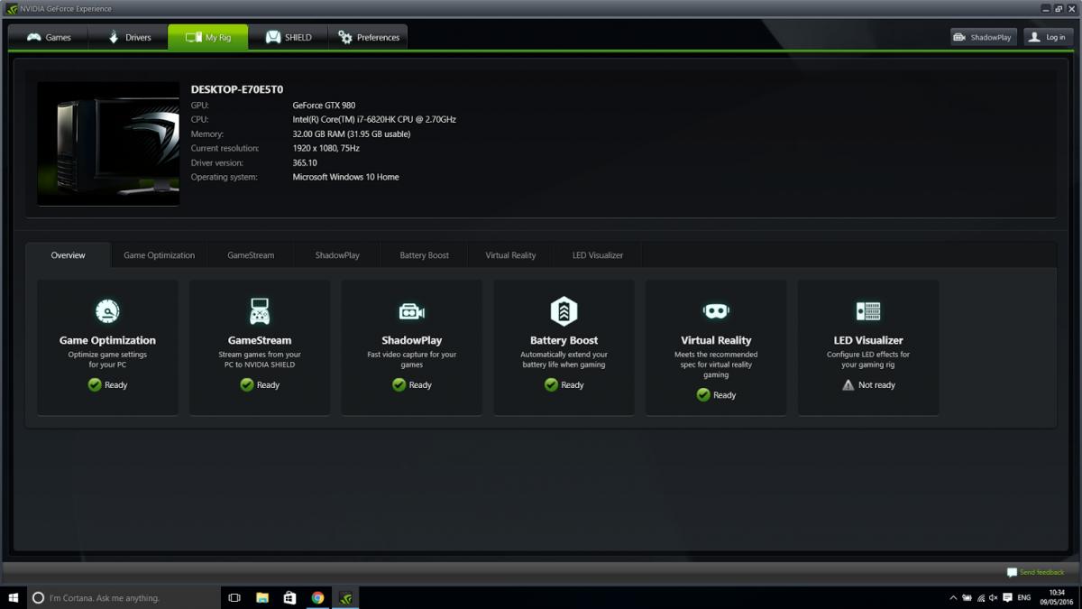 HTC Vive Nvidia Drivers