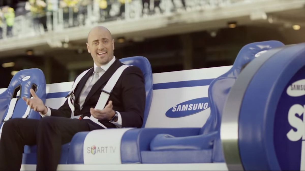Samsung Slider bench competition