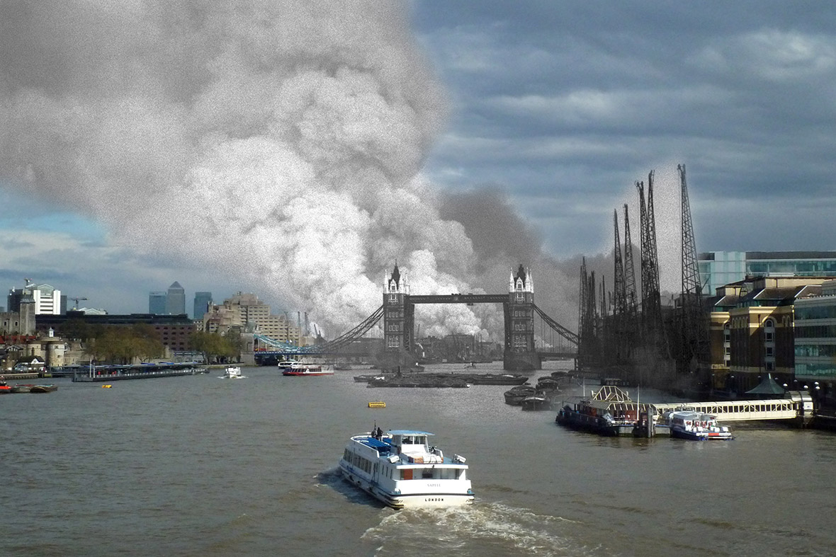 The Blitz London World War Two