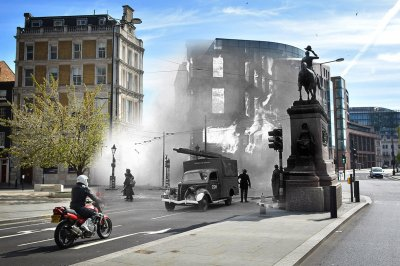 The Blitz London World War Two