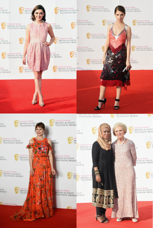 BAFTA TV fashion