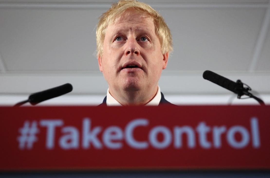 Boris Johnson, Vote Leave campaigner