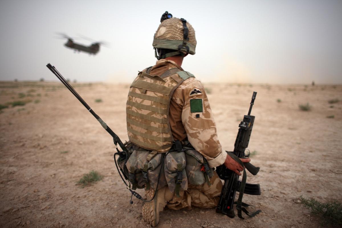 british army afghan
