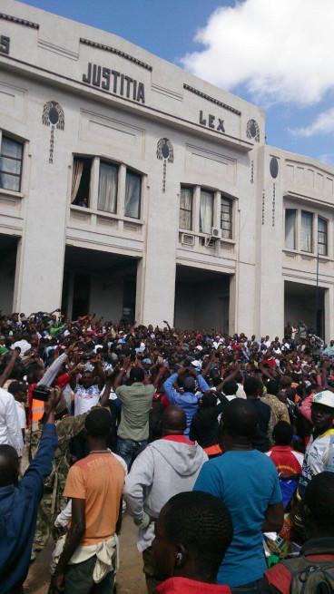 Moise Katumbi Lubumbashi supporters