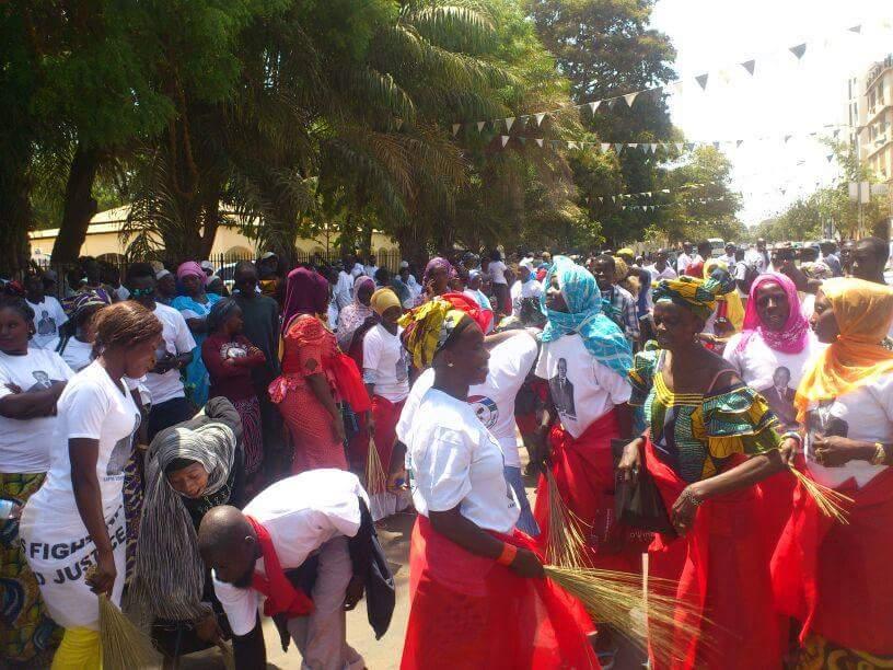 Protests in Banjul