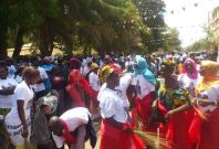 Protests in Banjul