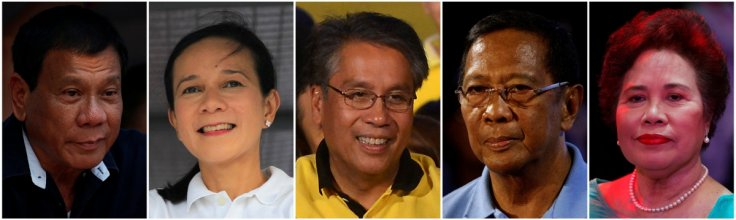 Philippine presidential election candidates