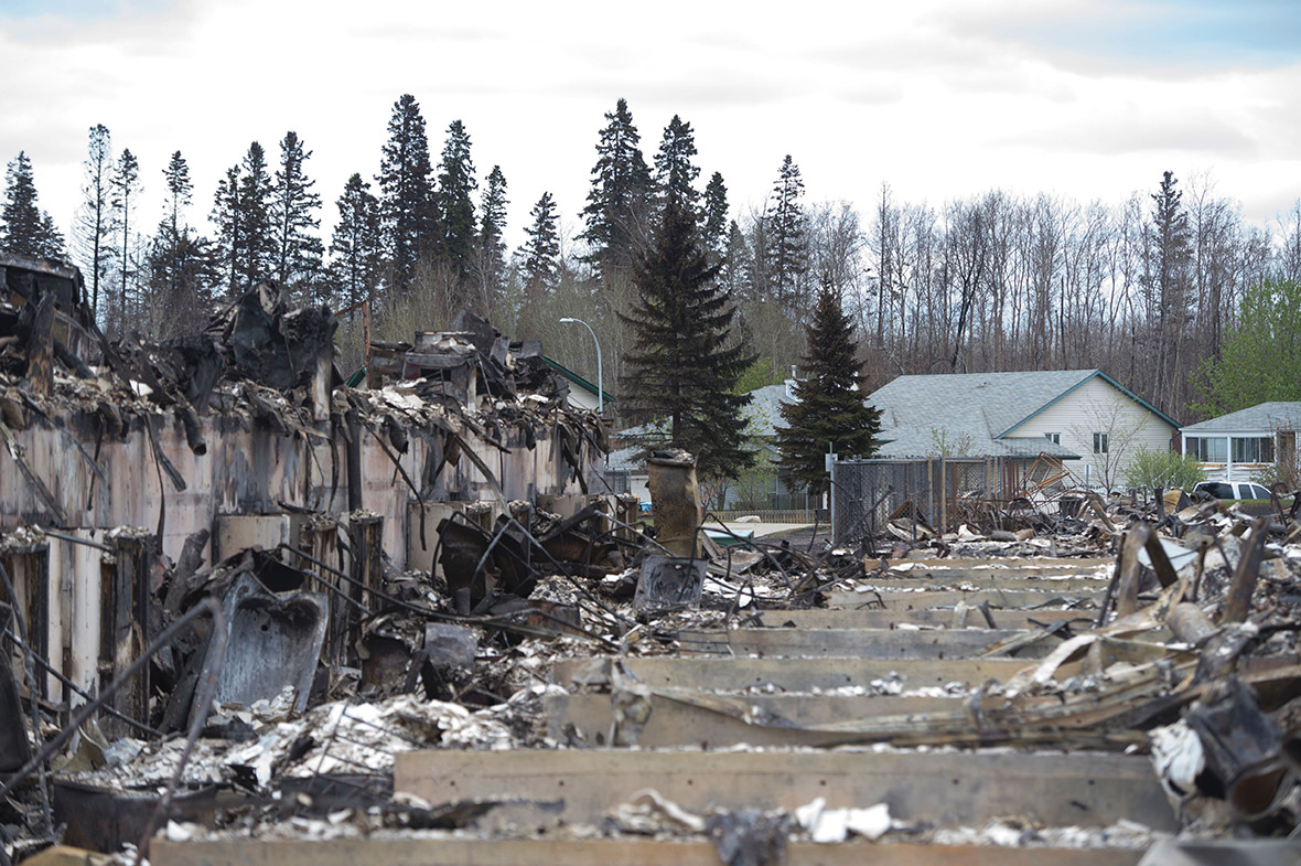Canada wildfire Fort McMurray