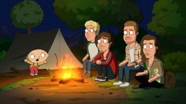 One Direction in Family Guy