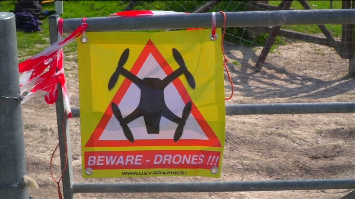 UK drone race still from video