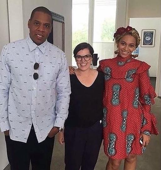 Beyonce ankara dress