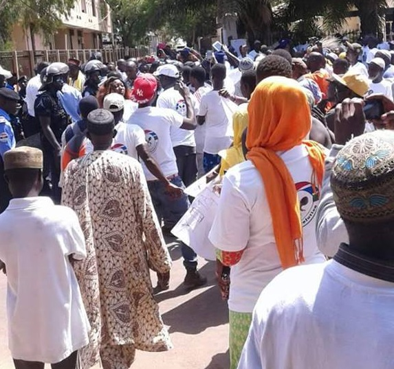 Banjul protests