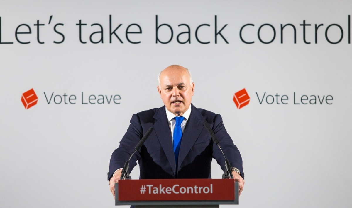 Iain Duncan Smith, Vote Leave spokesman