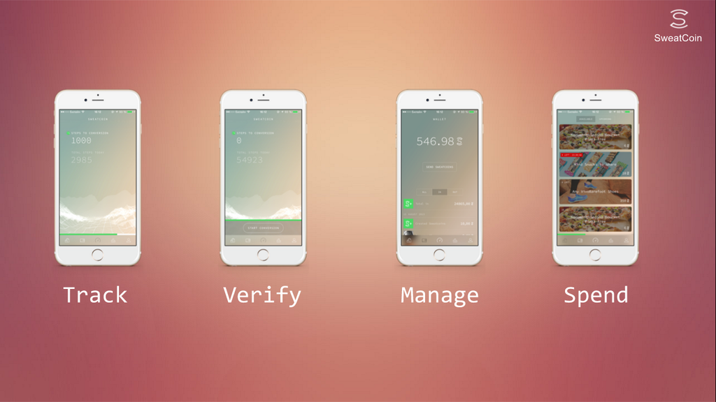 Sweatcoin app for iOS