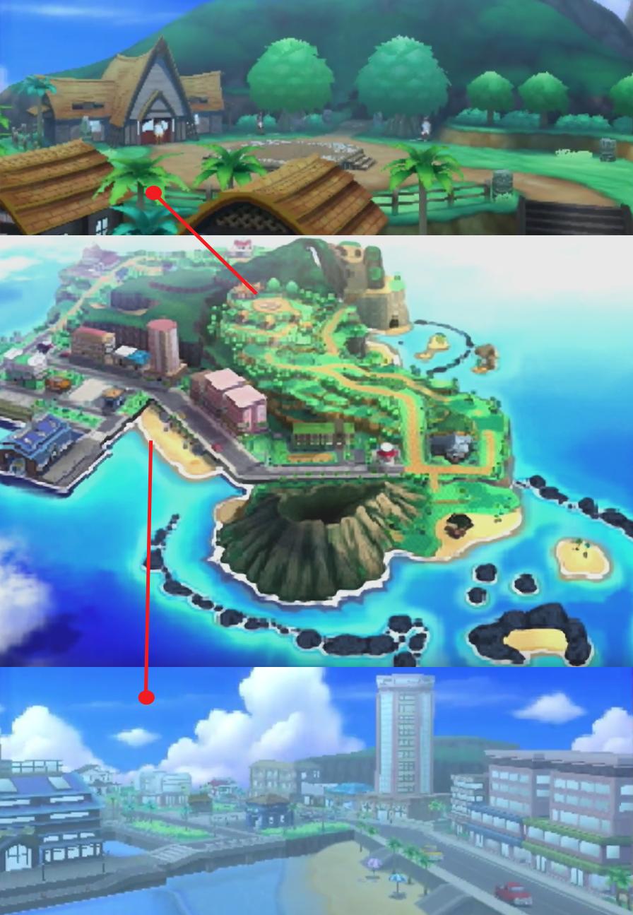 Pokemon Sun Moon 3DS Alola