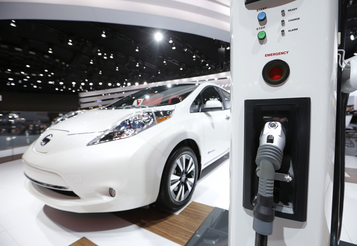 British Nissan Leaf owners could soon sell energy back to the Grid via xStorage