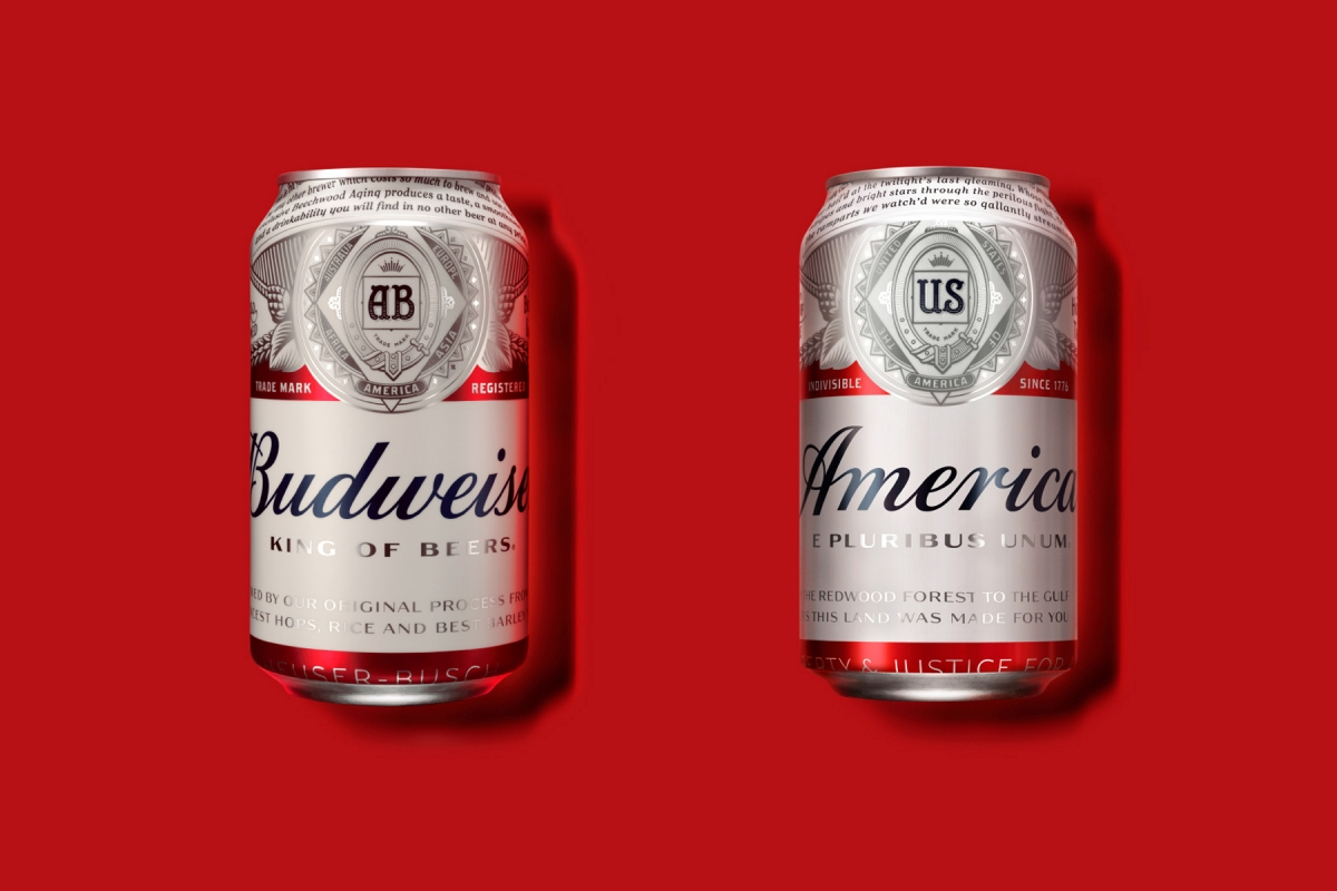 Budweiser beer to be rebranded as 'America' in a bid to capitalise on US elections