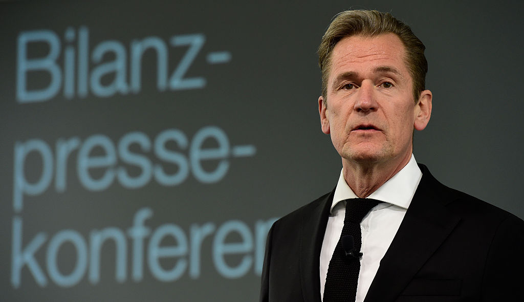 CEO of German media giant Axel Springer Mathias Doepfner