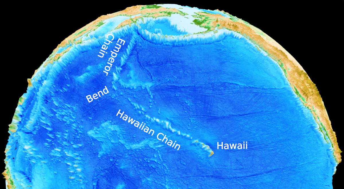 Hawaiian-Emperor seamount chain