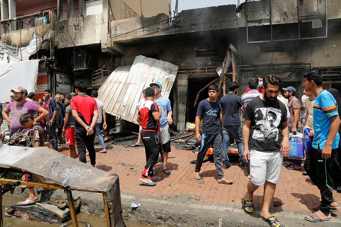 Baghdad bombing