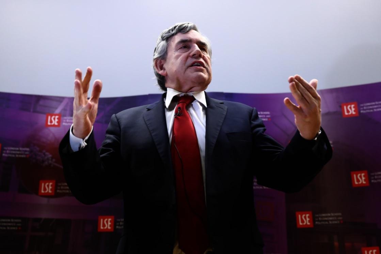 Gordon Brown, former Labour prime minister