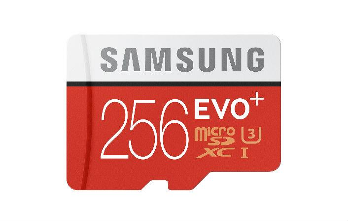Samsung 256GB Evo Plsu microSD card