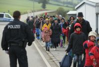 More than a million refugees entered Germany