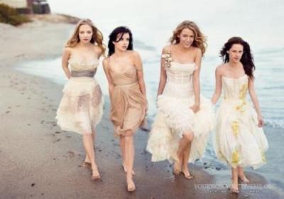 Amanda Seyfried, Emma Roberts, Blake Lively and Kristen Stewart