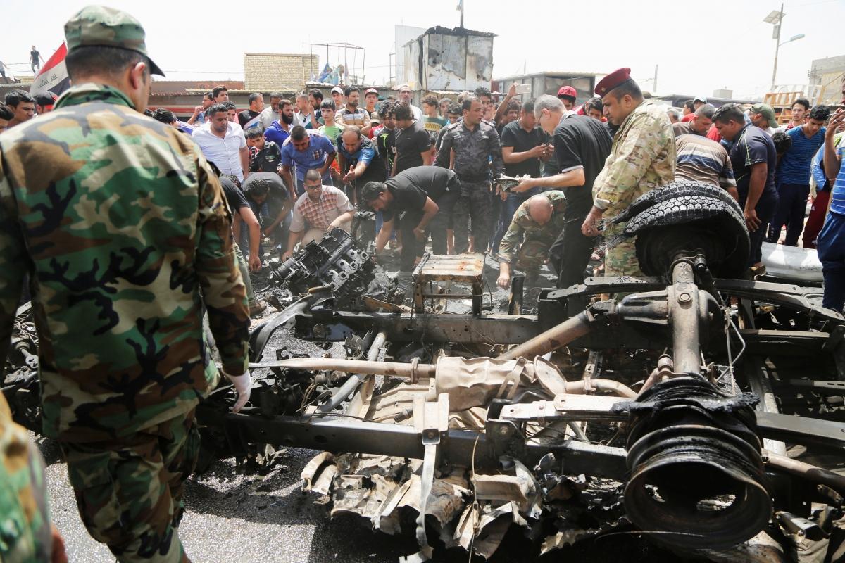 Iraq Baghdad blasts
