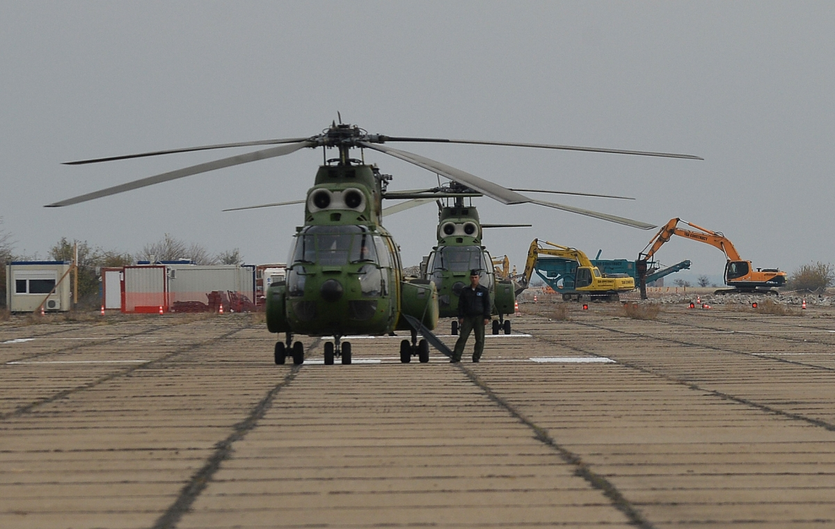 Deveselu military airbase, Romania