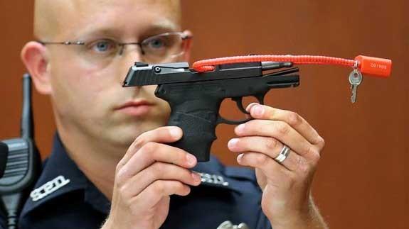 George Zimmerman gun