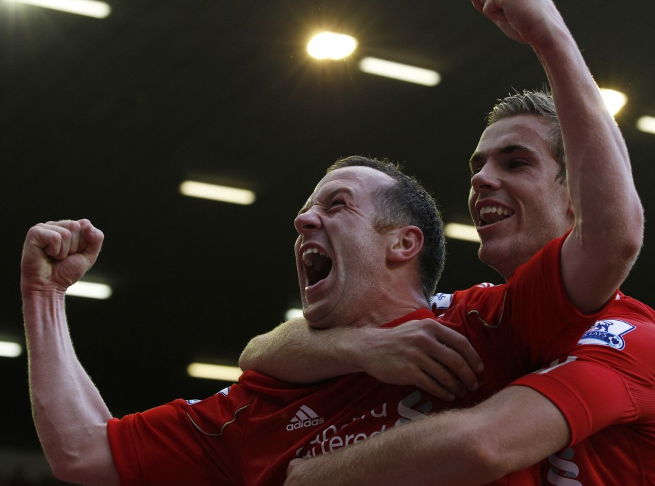 Charlie Adam and Jordan Henderson.
