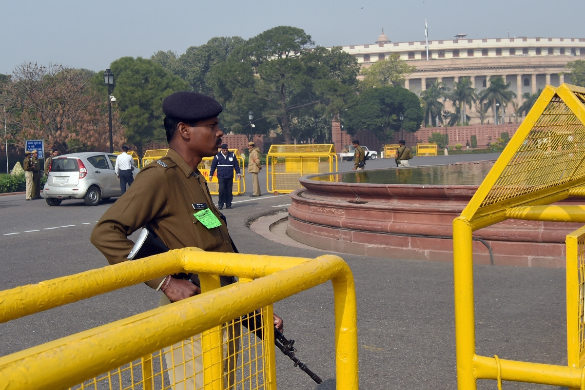 Delhi police Parliament