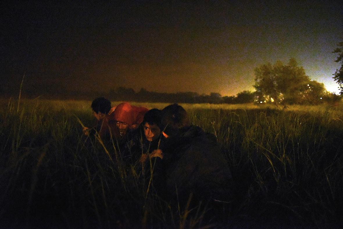 Calais' unaccompanied children