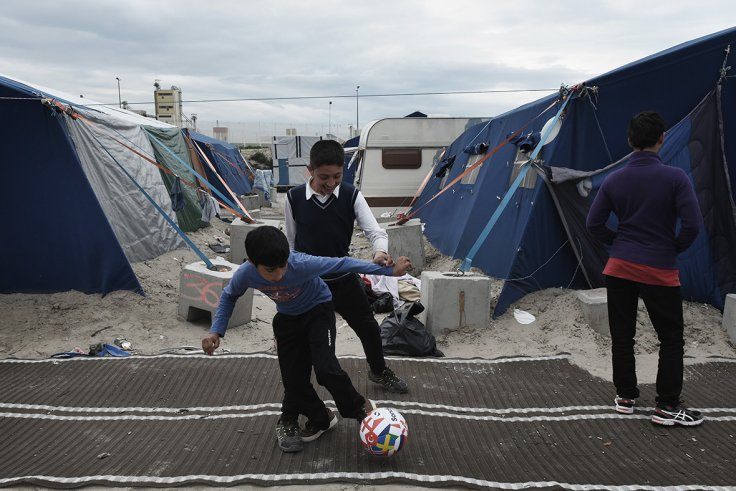 Calais' unaccompanied children