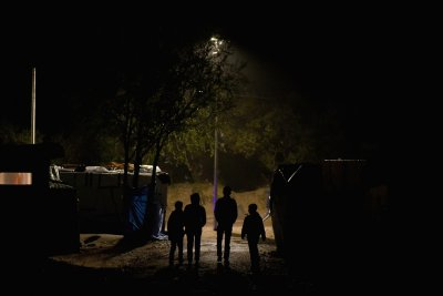 Calais unaccompanied children