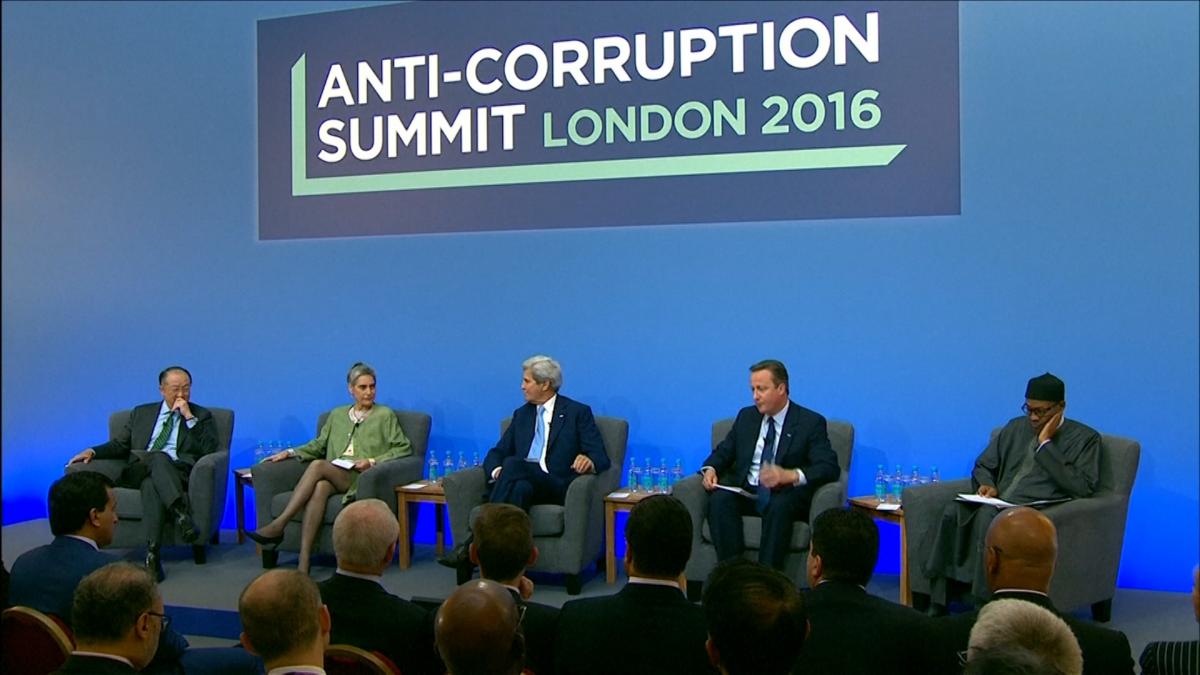 Anti-corruption summit 2016 London