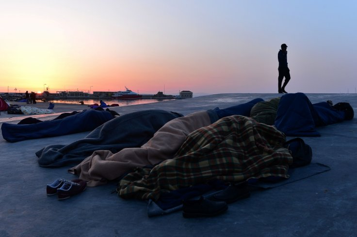 Chios refugees