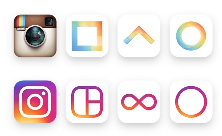 Instagram new icon and app design