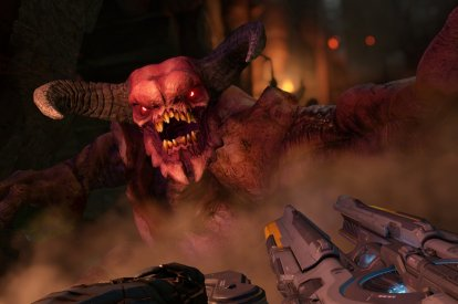 Doom 2016 talk to the monsters