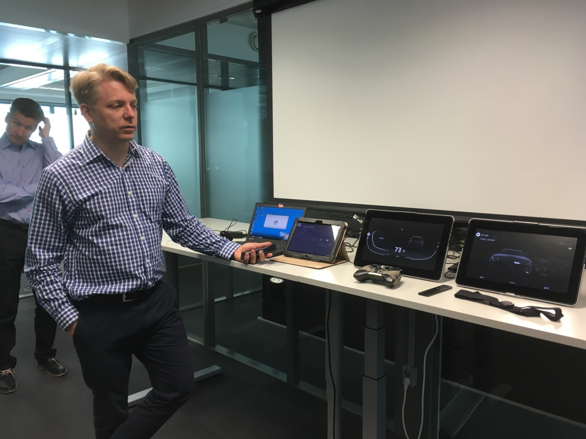Realware product marketing director Olli Laiho