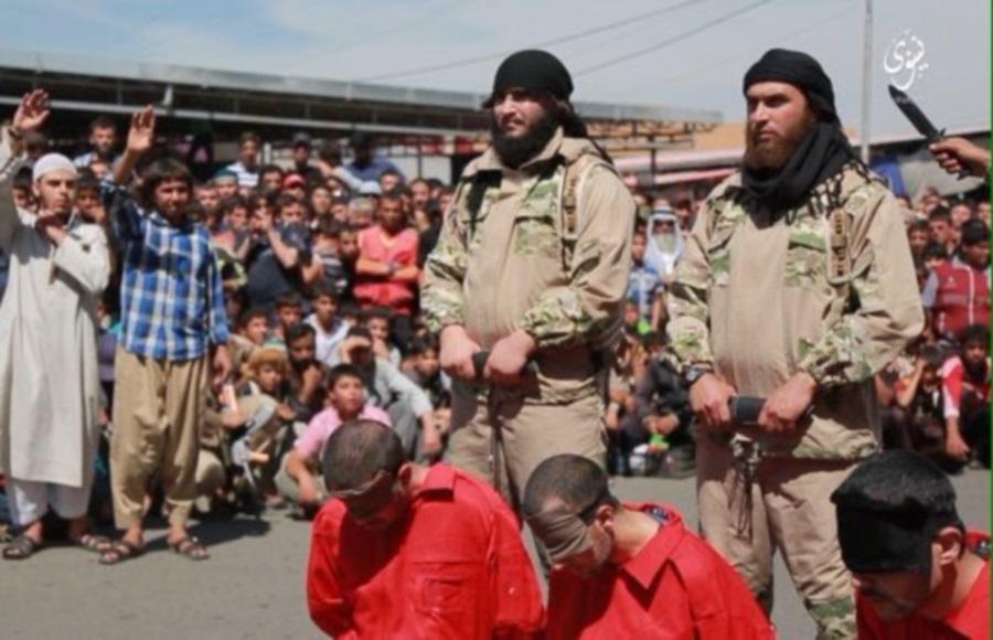 Isis onlookers