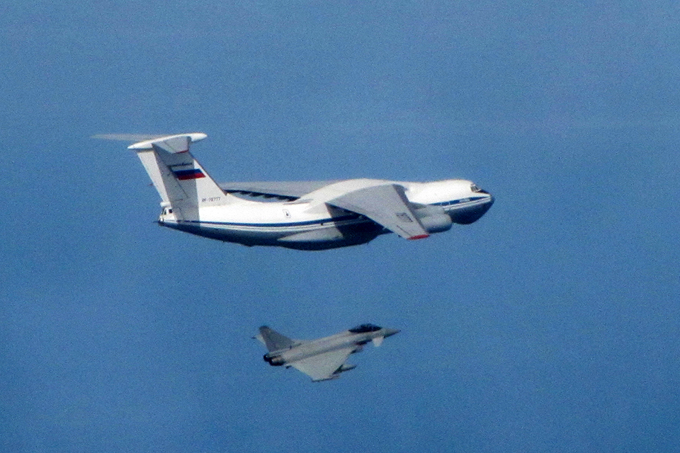RAF Russia Baltic 2016