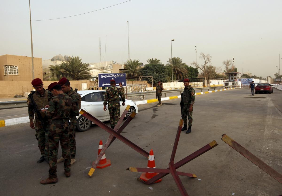 Australian killed Baghdad embassy