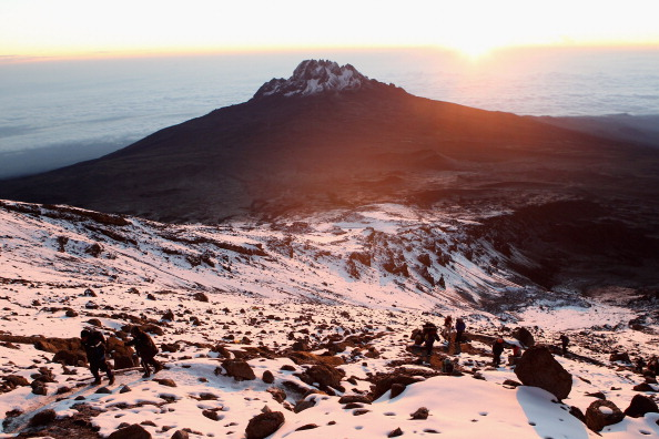 Pizza Hut makes world record pizza delivery to the top of Mt Kilimanjaro
