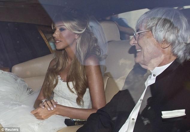 Petra Ecclestone on her wedding