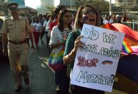 LGBT protest India
