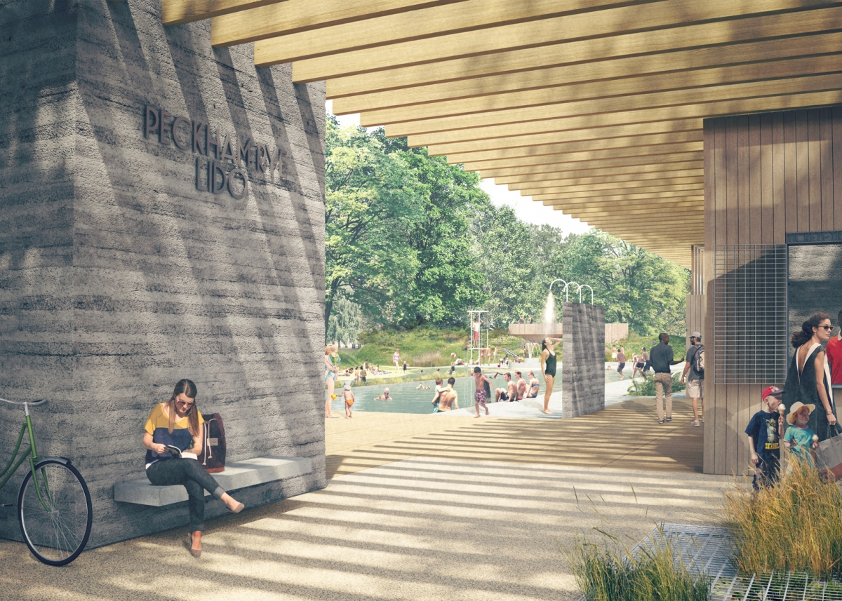 Peckham Beach Crowdfunding Campaign To Restore London Landmark With Olympic Size Swimming Pool
