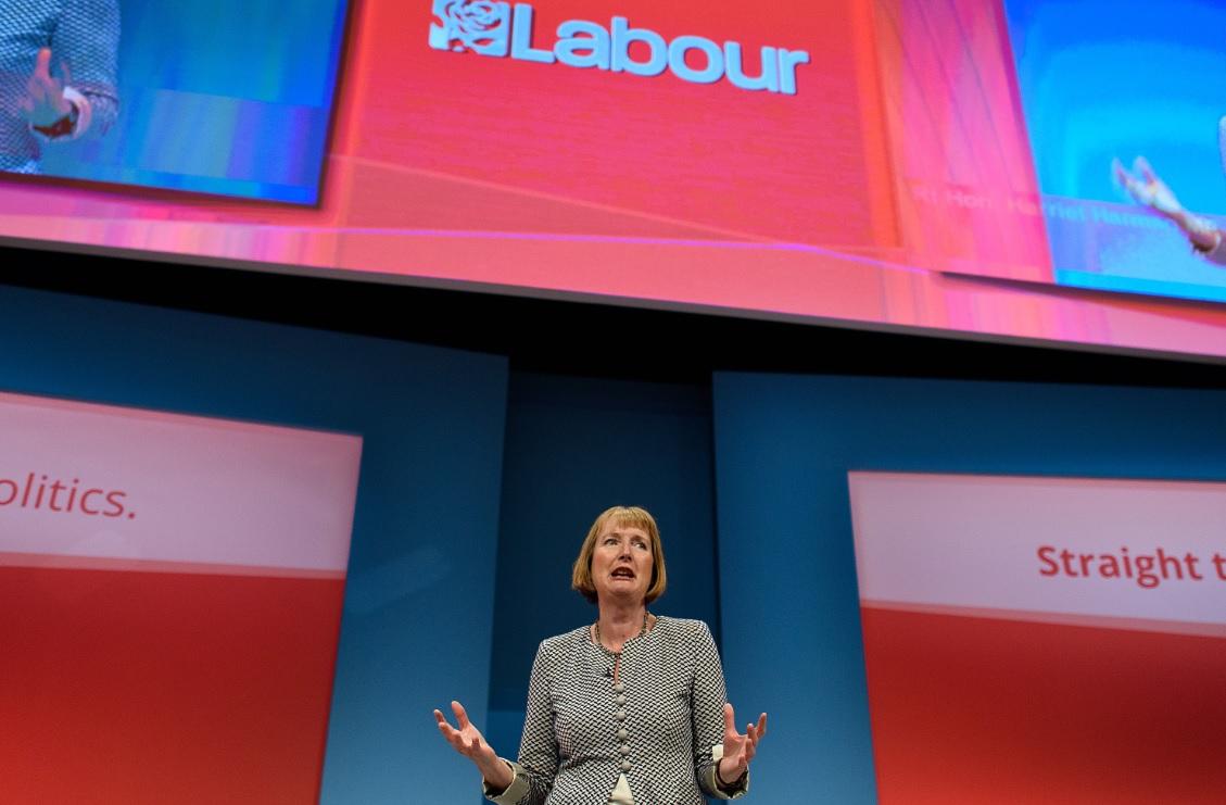 Harriet Harman, pro-EU campaigner
