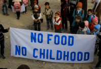 No food no childhood - Daraya siege